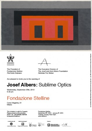Affiche : Josef Albers - Sublime Optics