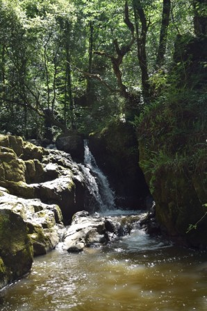 Waterfall at Puits d Enfer