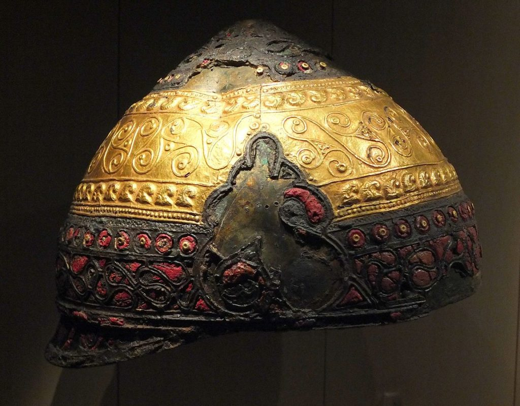 Helmets of the Gaulish Celtic: The ceremonial Helmet of Amfreville